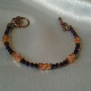 Vintage style swarvoski bracelet